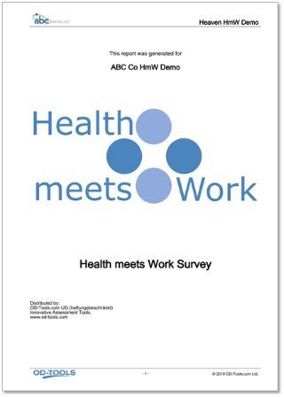 Health meets Work™ Report