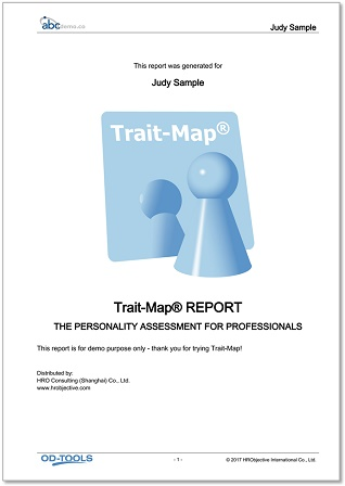 Trait-Map® Report Cover