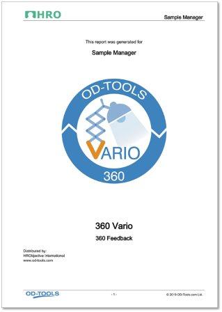 Vario 360 Feedback Report